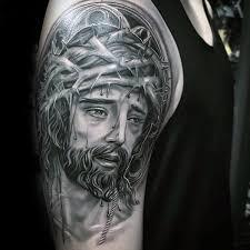 60 3d jesus designs for religious ink ideas