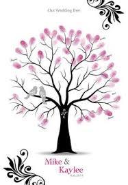 Wedding Tree Rustic Darkwood Wedding Tree Guest Book Alternative Wedding Wish