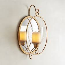 Mirrored Wall Sconce Wall Sconces U0026 Candle Chandeliers Pier 1 Imports