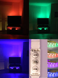rgb led strip lighting rgb led strip light tv background lighting kit red green blue with