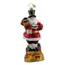christopher radko classic carols christmas ornament wish you a