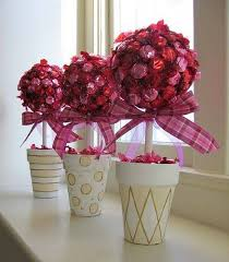 How To Make Ribbon Topiary Centerpieces by 229 Best Topiarios Images On Pinterest Crafts Centerpieces And