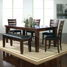 Bench For Dining Room Breakfast Table With Bench Seat Simple Dining Room Best Ideas On
