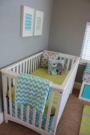 aqua gray u0026 green baby boy nursery project nursery