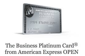 Business Platinum Card Amex The Business Platinum Card From American Express Open Bonus