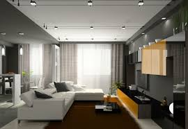 spot dans cuisine éclairage led et types de luminaires dans le salon parfait cuisine