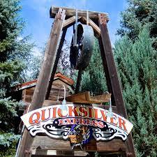gilroy gardens family theme park gilroy ca a z coaster of the week quicksilver express coaster101