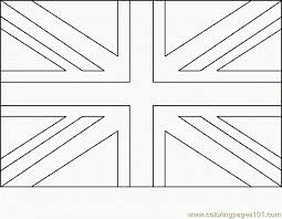 Great Britain Flag Uk Flag Coloring Pages Great Britain Flag Coloring Page
