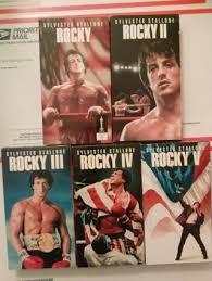 free rocky box set movies i v 1 5 sylvester stallone boxer