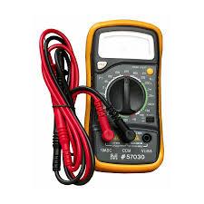 shop morris products digital 600 volt multimeter at lowes