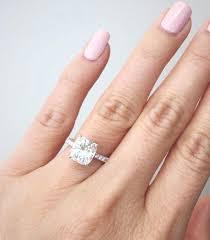 2ct engagement rings 2 carat cushion cut diamond halo engagement ring rings price