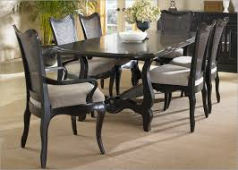 black dining table chairs attractive black dining table for wood room of good images about
