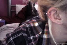 hoop cartilage piercing cartilage piercing with hoop