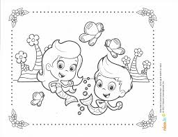 bubble guppies coloring creative coloring page ideas tv land