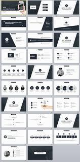 29 black business plan presentation powerpoint templates the