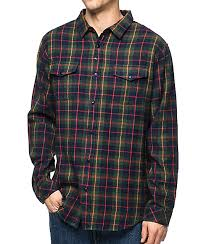 Flannel Shirts Imperial Motion Townsend Navy Flannel Shirt Zumiez