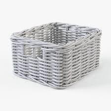 wicker basket ikea byholma 1 set 4 color by markelos 3docean