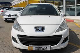 peugeot pre owned 2010 peugeot 207 selling at r 69 990 renault randburg the
