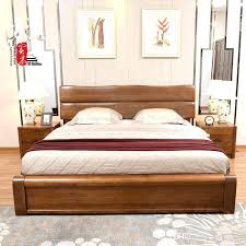 chinese bed frameall solid wood bed bedroom furniture double bed