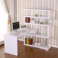 biblioth ue avec bureau homcom bureau design contemporain avec bibliothèque adjacente