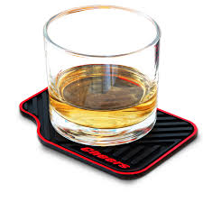 Unique Drink Coasters Car Mat Silicone Coasters Janazala Anniversary Gifts For