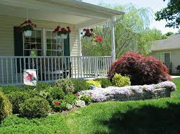 diy landscaping ideas front of house u2014 home design ideas