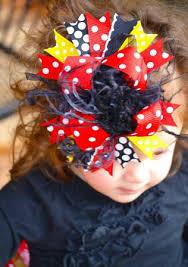 mickey mouse hair bow mickey mouse the top hair bow headband