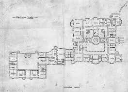 slains castle ground floor plan by harlequintessence via flickr