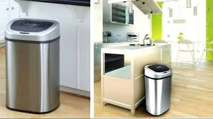 target kitchen trash cans target tall kitchen trash cans modern