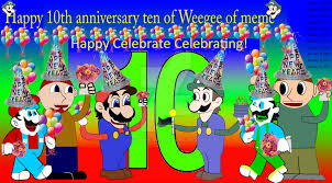 Weegee Memes - happy 10th anniversary of weegee of memes by ivanweegee123 on