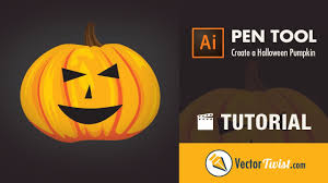 How To Draw A Halloween Pumpkin In Illustrator Vectortwist