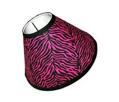 pink zebra lamp shade better lamps