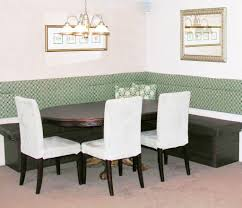 Dining Room Benches With Backs Contemporary Dining Room With Bench With Back And Contemporary