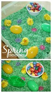 Toddler Sensory Table by 108 Best Holiday Spring Sensory Activities Images On Pinterest