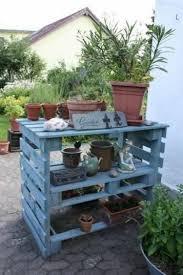 pallet wood potting bench plans potting bench plans outdoor