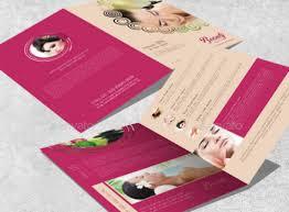 12 distinctive beauty brochures for diy highly interactive beauty