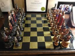 beautiful chess sets a beautiful chess set my mom made us album on imgur