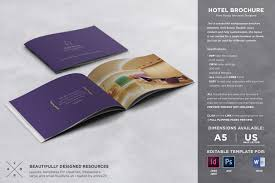 free templates for hotel brochures hotel brochure template brochure templates creative market