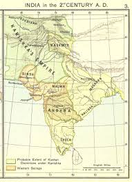 Ancient India Map An Estimate Of Kanishka One Of The Greatest Monarchs Of Ancient India