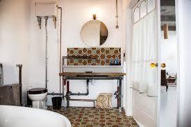 Industrial Style Bathroom Vanities by Bathroom Stunning Industrial Style Bathroom Lighting Industrial