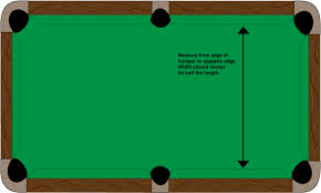 pool table sizes chart guitar drawings clipart 2176487
