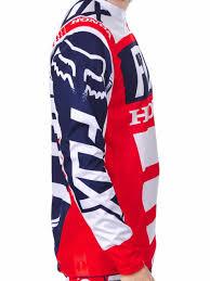 mens motocross jersey men fox hc jersey stmxcouk fox honda motocross gear hc jersey