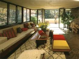 fallingwater is a house by frank lloyd wright that is built on a
