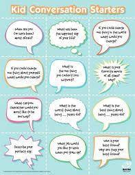 table topics for kids 23 best conversation starters images on pinterest conversation