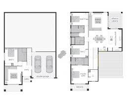 bayview act floorplans mcdonald jones homes split level house