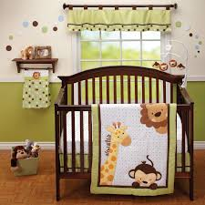 Boy Monkey Crib Bedding Bedroom Admirable Jungle Baby Crib Bedding Set And Cherry Combo