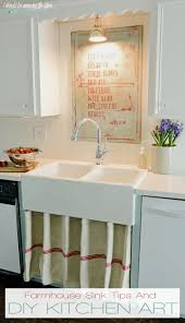 Kitchen Artwork Ideas I Should Be Mopping The Floor Farmhouse Sink And Diy Kitchen Art