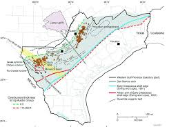 houston fault map map of western gulf province showing subsurface occurrence of