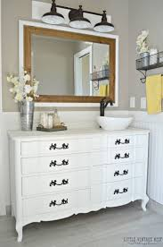 White Bathroom Cabinet Ideas Best 25 Dresser To Vanity Ideas Only On Pinterest Dresser