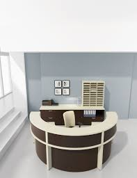 Office Furniture Warehouse Pompano by Lacasse Morpheo Circular Reception Office Furniture Warehouse